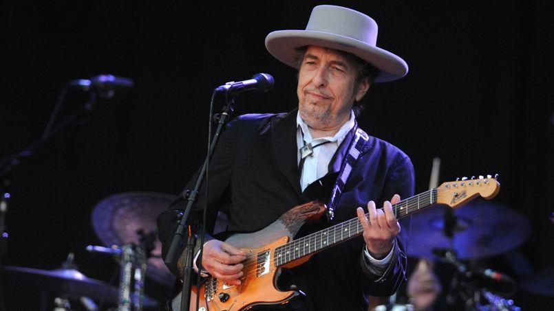 Bob Dylan, aux Vieilles Charrues l'année dernière.