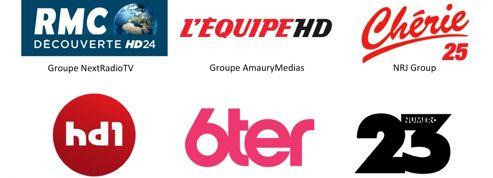 Les six nouvelles chaînes de la TNT montent en audience