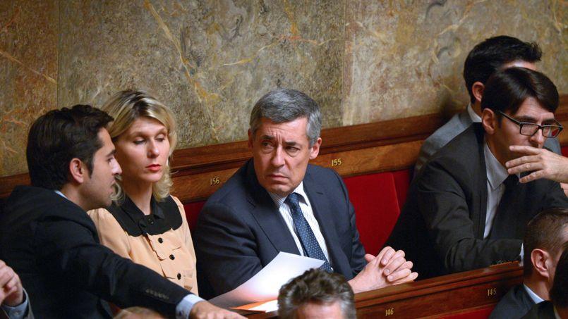 Henri Guaino, à l'Assemblée.