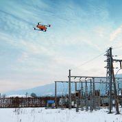 Delta Drone inspecte le réseau électrique
