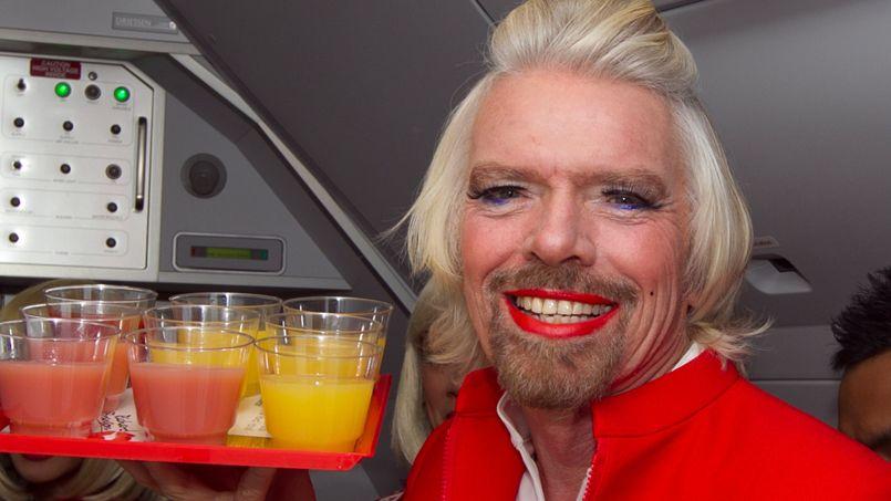 Richard Branson, fondateur de la marque Virgin.