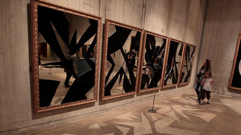 Michelangelo Pistoletto au Louvre, un goût de Paradis