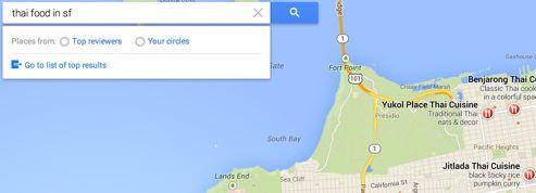 Google Maps change ses plans selon vos goûts