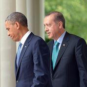 Erdogan presse les USA d'agir en Syrie