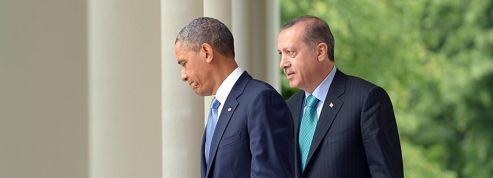 Erdogan presse l'Amérique d'agir en Syrie