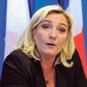 Vote des étrangers: Marine Le Pen soigne son profil droit