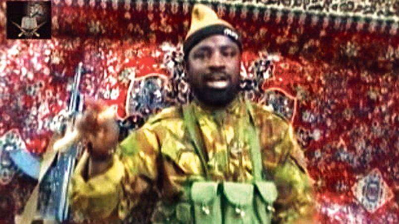 Capture d'écran datant du 13 mai et issue d'une vidéo montrant Abubakar Shekau, chef présumé du groupe islamiste Boko Haram.