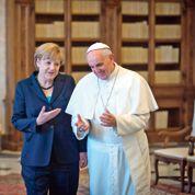 François et Merkel parlent d'économie