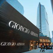 Armani veut ouvrir plus de 100 boutiques par an