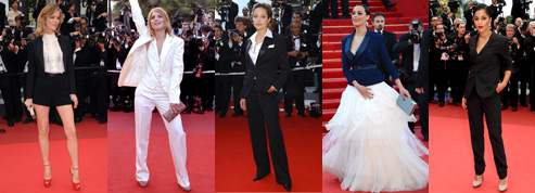 Smoking sur tapis rouge
