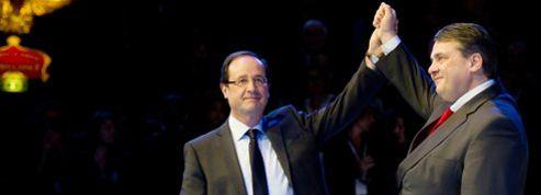 Le SPD compte sur la venue de Hollande pour rebondir