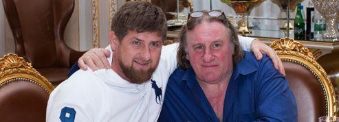 Depardieu en tournage en Tchétchénie