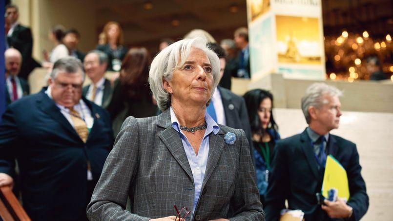 Christine Lagarde à Washington, en avril dernier.