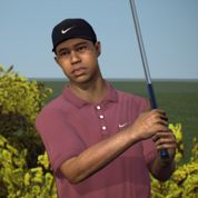 Test : Tiger Woods PGA Tour 14 ,double bogey