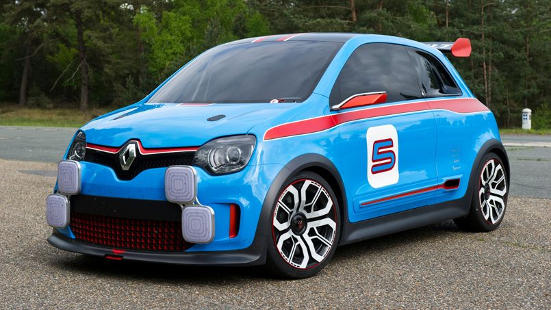 Renault Twin'Run : la future Twingo en tenue de sport
