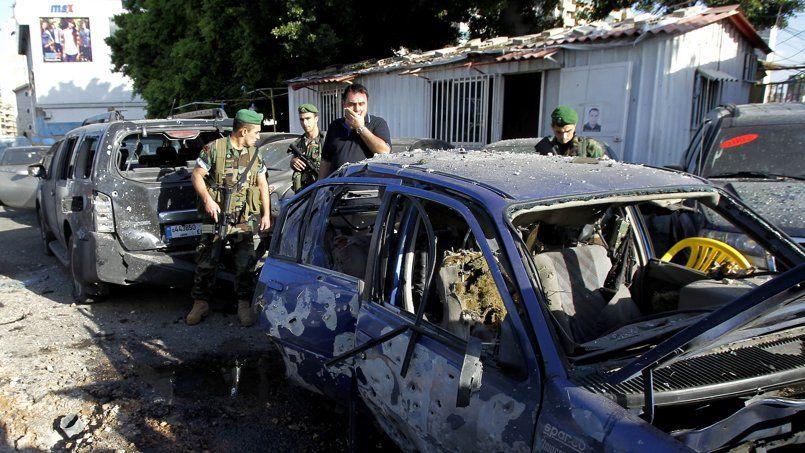 Le fief du Hezbollah frappé par des roquettes dans la banlieue de Beyrouth