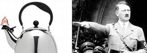 Une théière ressemblant à Hitler crée la polémique aux États-Unis