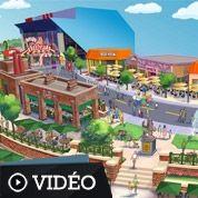 Top séries: un parc spécial Simpson