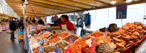 Les marchés parisiens font des heures sup