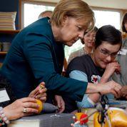 Merkel en campagne promet sans compter