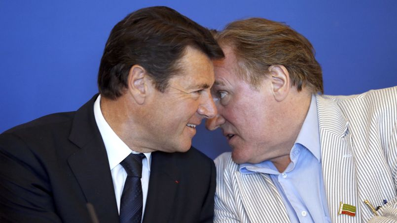 Gérard Depardieu à Nice: «Je me sens très bien en Russie»