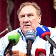 Depardieu: images du tournage tchétchène