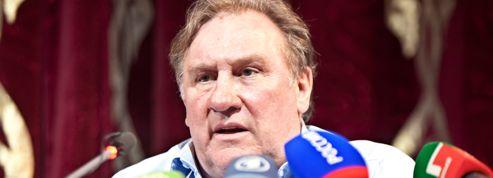 Depardieu: les premières images du tournage tchétchène