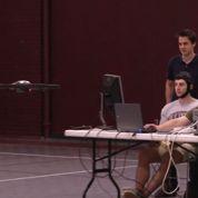 Un drone piloté à la force des neurones