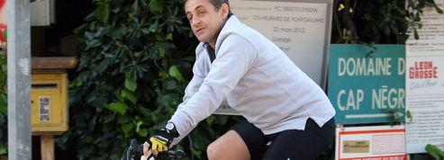 Nicolas Sarkozy suiveur du jour