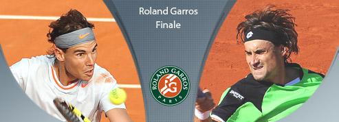 Roland-Garros : Nadal mène<br>deux sets à rien