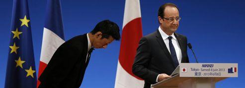 Hollande s'appuie sur le Japon pour contrer la Chine