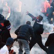 Trocadéro: la police vise les casseurs