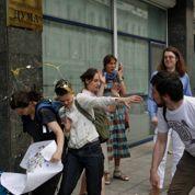 Des Français à Moscou contre le mariage gay
