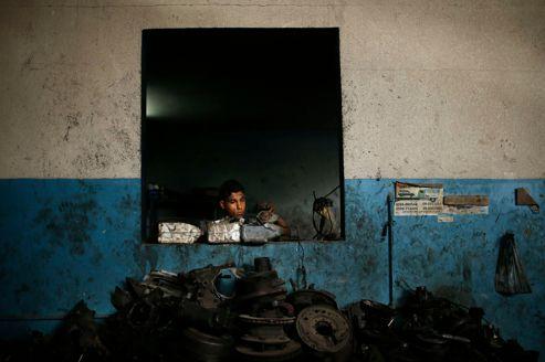 Les apprentis mécaniciens de Gaza