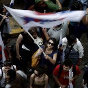 Les Grecs mobilisés pour la télé publique