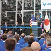 Vallourec inaugure une usine aux États-Unis