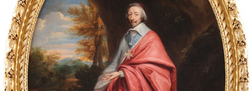 Un portrait inédit de Richelieu en vente pour la première fois