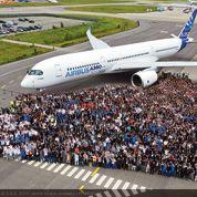 Premier vol réussi pour l'Airbus A 350