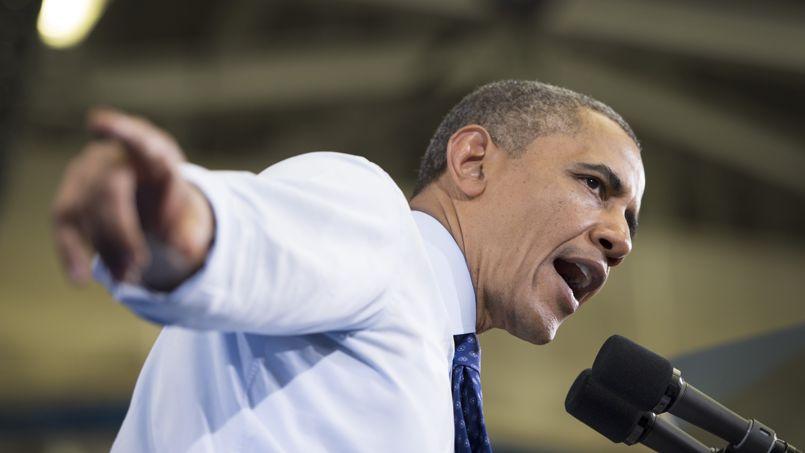 Barack Obama le 12 juin. Le président a fini par conclure qu'une intervention plus directe des États-Unis en Syrie devenait indispensable.