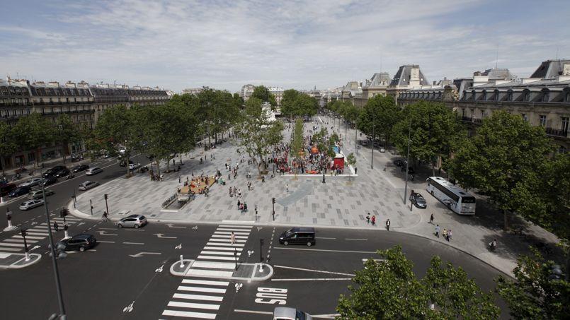 Paris : le nouveau visage de la place de la R��publique