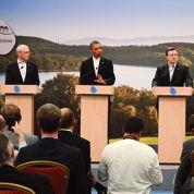 Hollande-Barroso: l'affrontement au G8