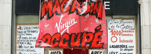Le Virgin des Champs-Élysées toujours occupé par des salariés