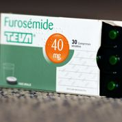 Furosémide: dix cas suspects, zéro confirmé