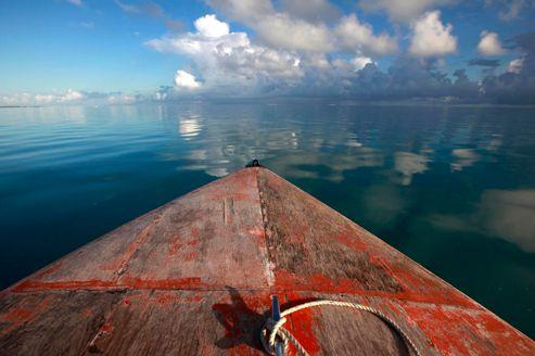 Tarawa, un atoll menacé de disparition