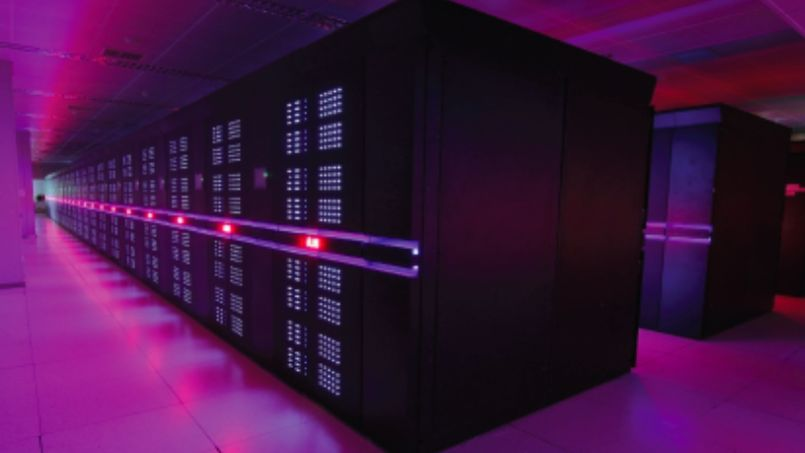 Le superordinateur Tianhe-2, à Changsha (Chine).