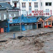 Pyrénées : rivières en crue et villages évacués