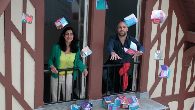 Nathalie Nikpay et Matthias Tronqual, les créateurs du Club des enfants parisiens.