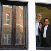 Julian Assange, cloîtré depuis un an dans l'ambassade d'Équateur à Londres