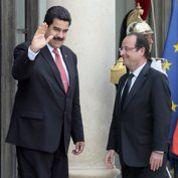 Le président vénézuélien reçu à l'Élysée