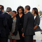 Michelle Obama et ses filles, touristes à Berlin